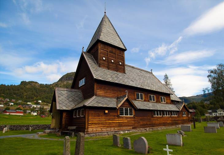 stave church, Norway, architecture, travel
