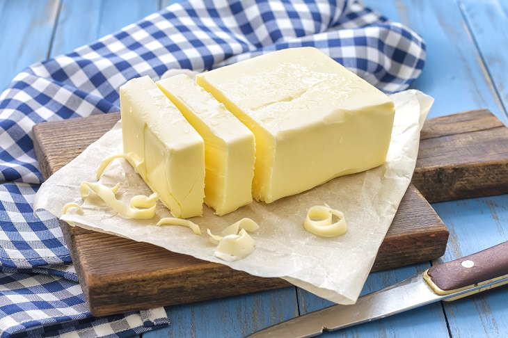 short inspirational story: a pound of butter