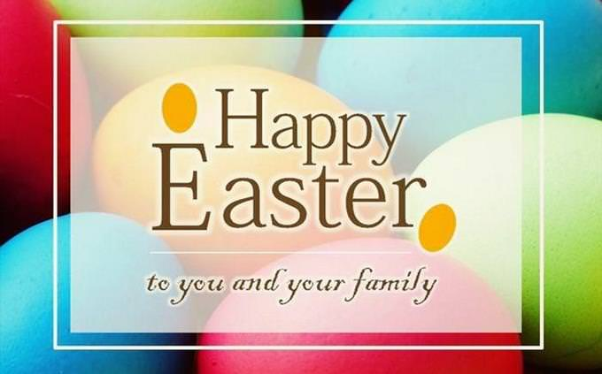 Happy Easter to You & Your Family
