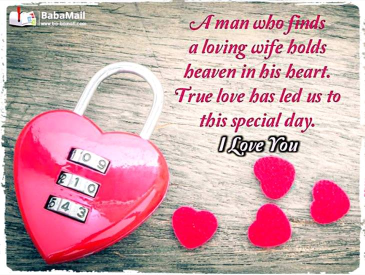 For the Best Wife a Man Could Ask For...