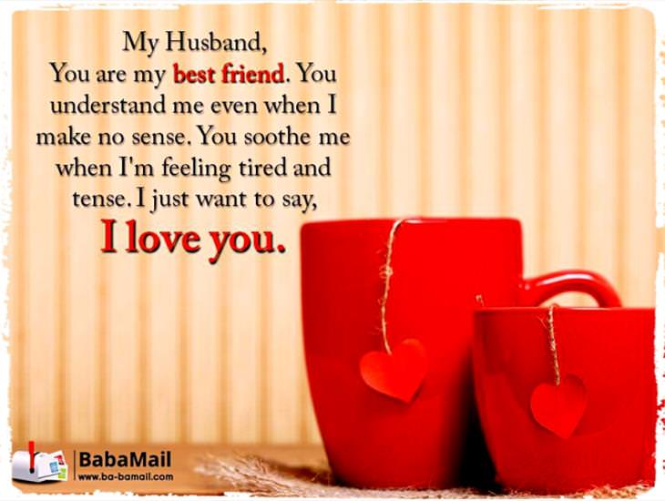 To My Best Friend and Husband!