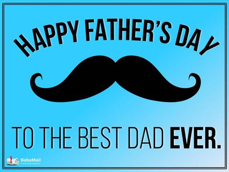 For the Best Dad Ever!