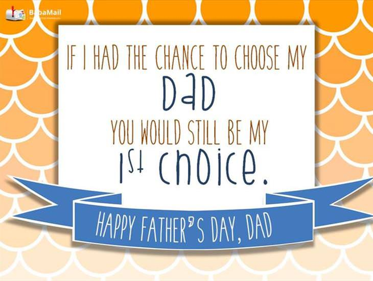 To the World's Greatest Father!