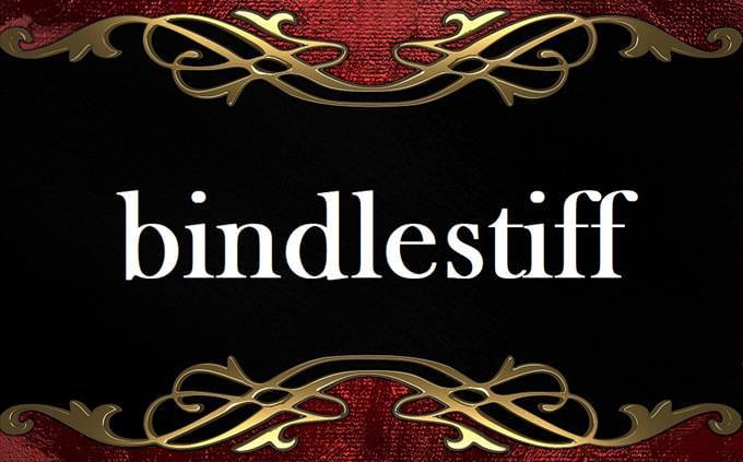 'bindlestiff' on formal background
