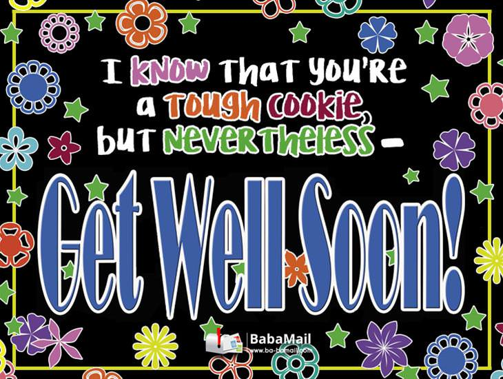 I Really Hope You Get Well Very Soon!