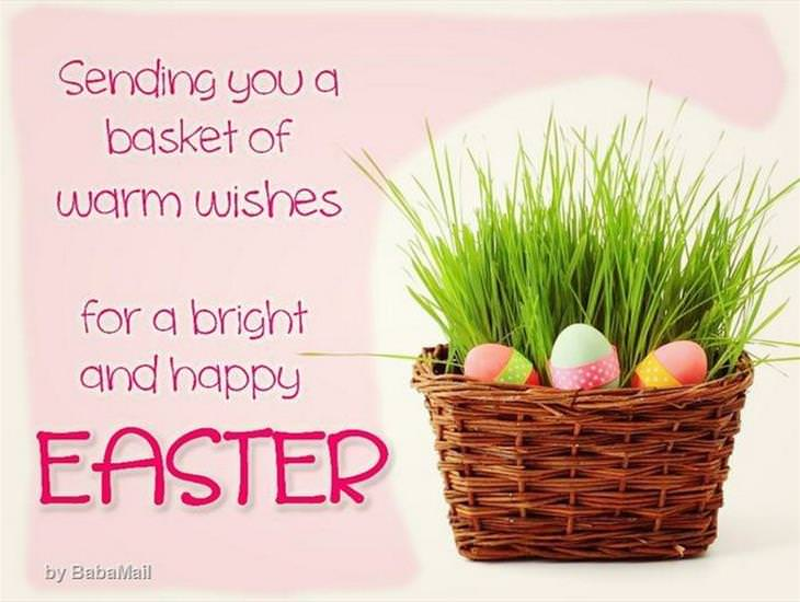 A Basket of Wishes for Easter
