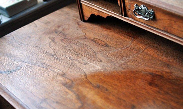Wood furniture wax