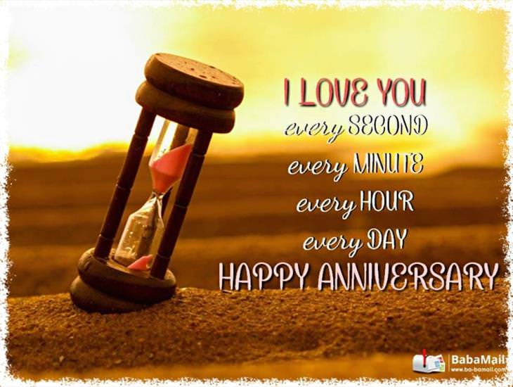 I Love You All the Time: Happy Anniversary!