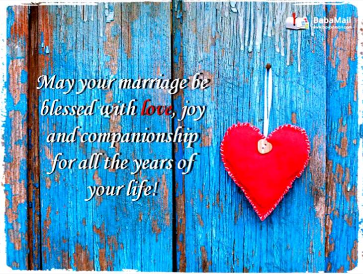 May Your Marriage Be Full of Bliss