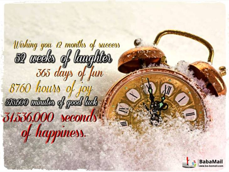 Wishing You 12 Months of Success, 52 Weeks of Laughter...