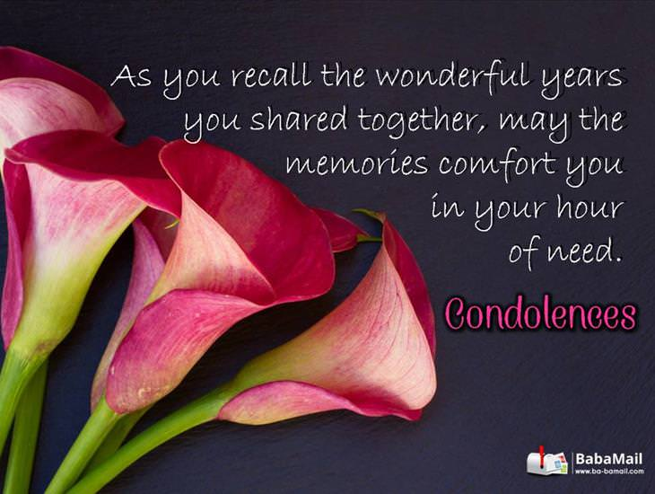 May Memories Shine to Comfort You...