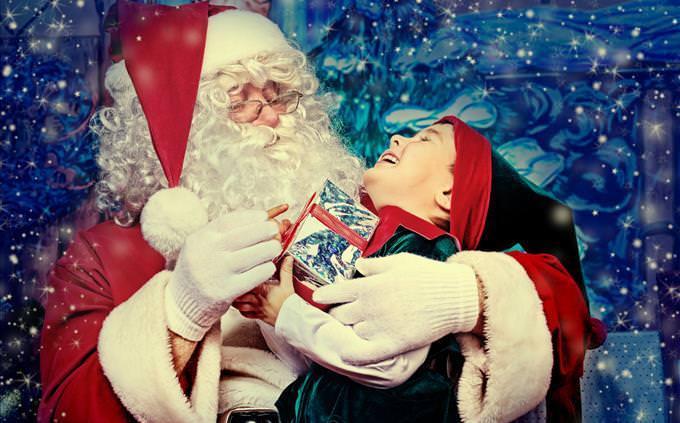 Santa and a Child