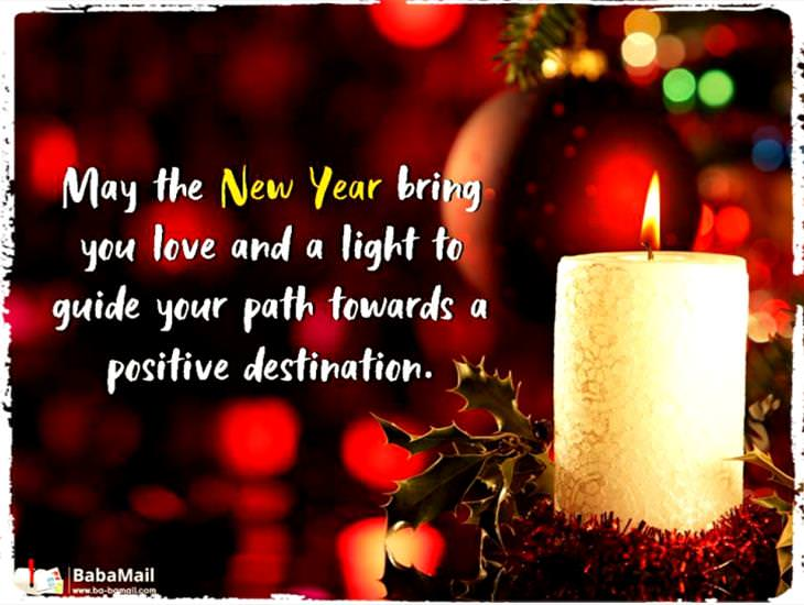 May the New Year Bring You Love and Light...