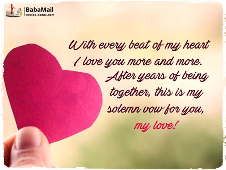 My Love For You Grows Stronger Each Day!
