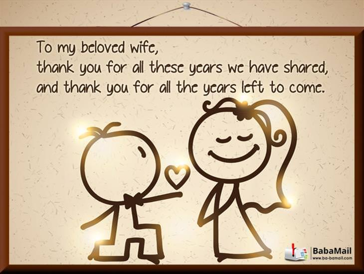 Dear Wife, I Love You With All My Heart!
