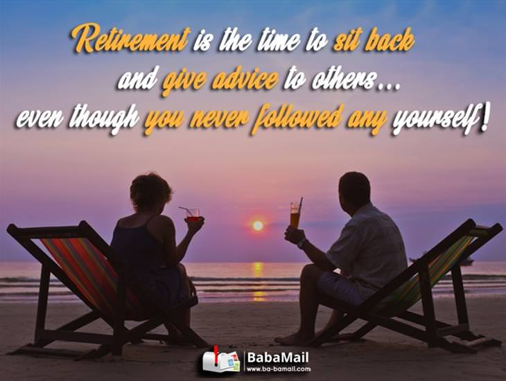 Happy Retirement! It's Time to Relax!