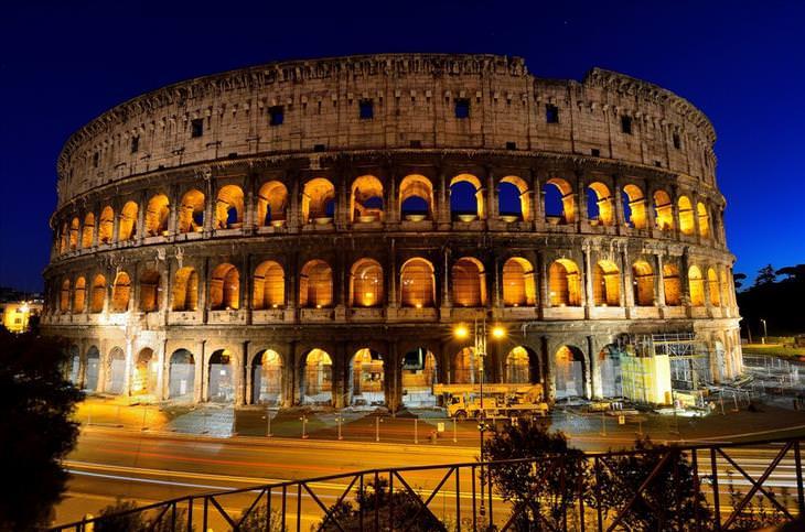 Roman ruins, architecture