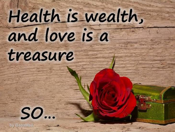 wealth, spiritual