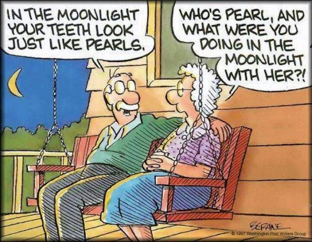 Funny - Cartoons - Elderly