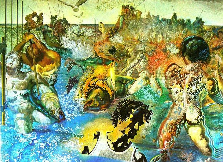 Salvador Dali artworks: Tuna Fishing