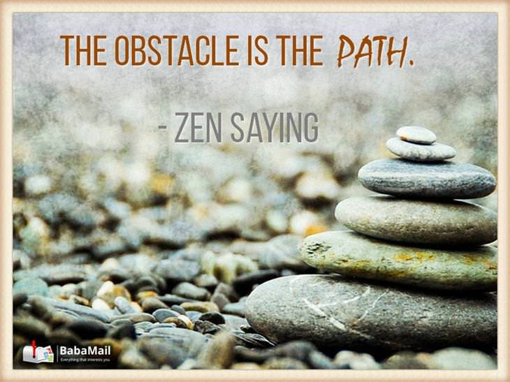 The obstacle is the path.