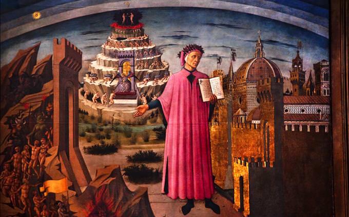 Dante Divine Comedy artwork