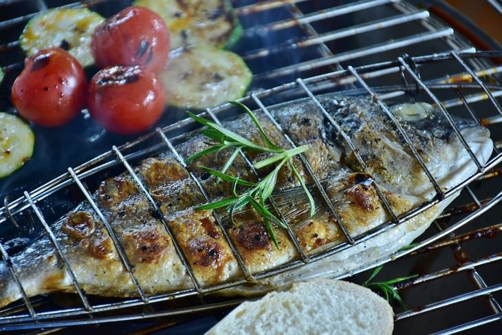 Cooking Fish: grilled fish