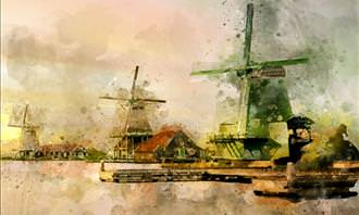 painting of Holland