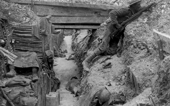 WWI  trench warfare