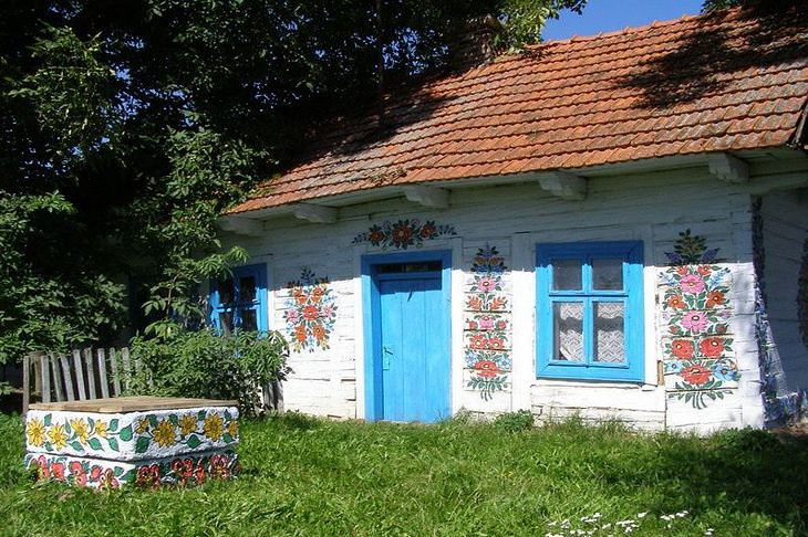 colorful houses around the world
