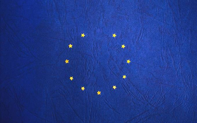 EU flag with missing star
