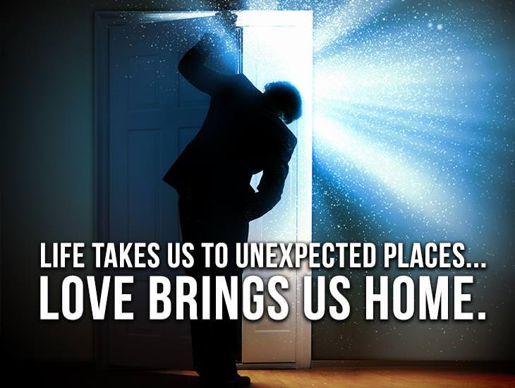 Love Brings Us Home!