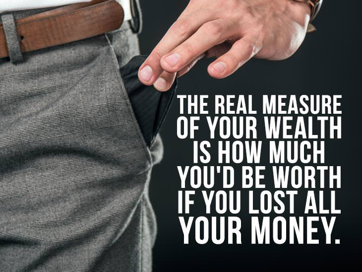 The Real Measure Of Wealth.
