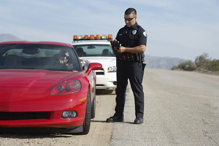 avoid a speeding ticket