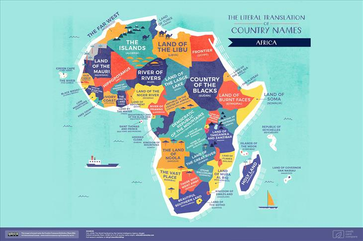 Maps of the world
