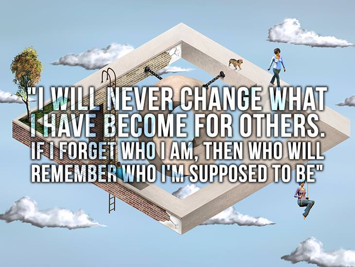 Never Change.