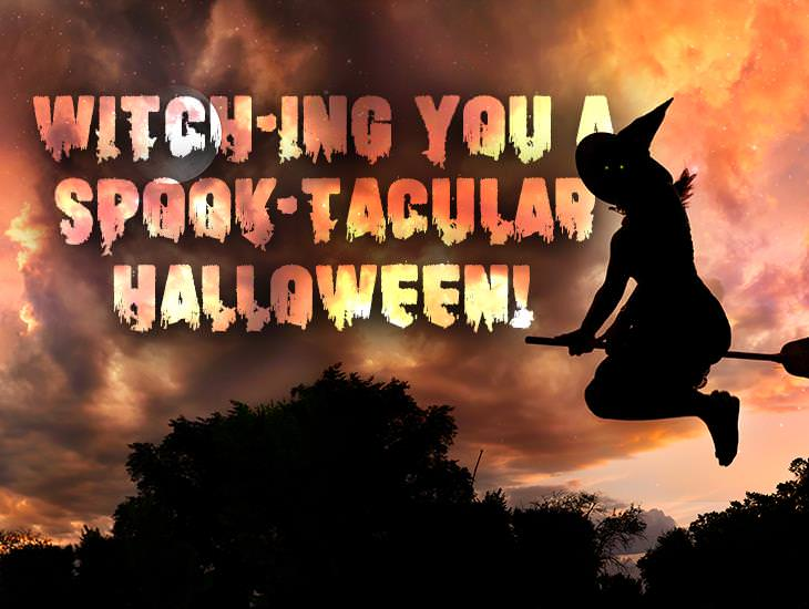 Witch-ing You A Spook-tacular Halloween!