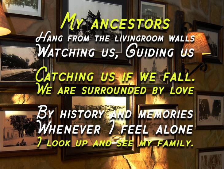 My Ancestors.