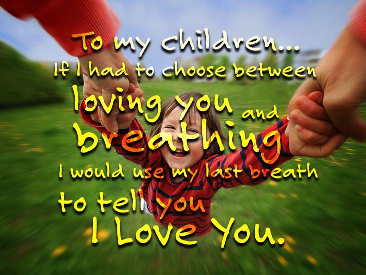 To My Children...