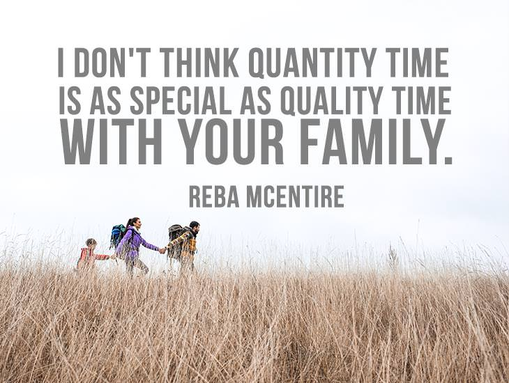 Quality Time with Your Family