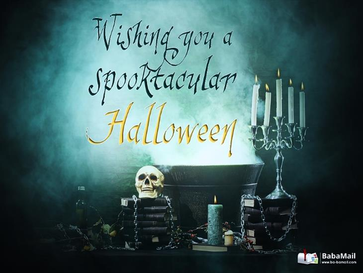 Wishing You a Spooktacular Halloween!