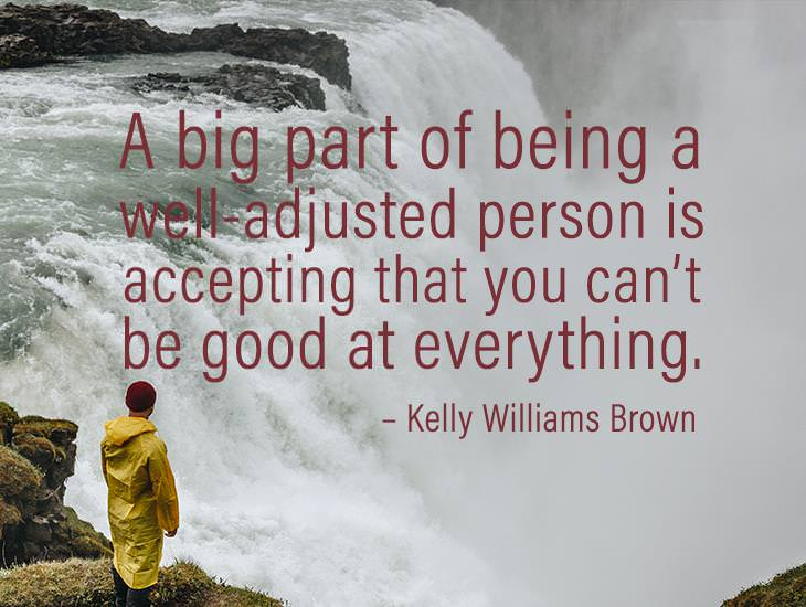 Being A Well-Adjusted Person