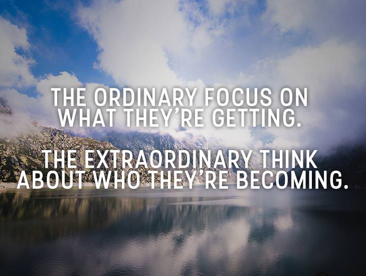 Difference Between The Ordinary And The Extraordinary