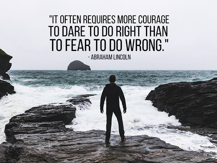 It Often Requires More Courage To Dare