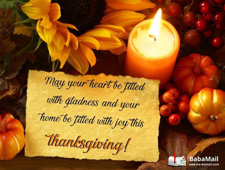 May Your Home Be Filled with Joy This Thansgiving