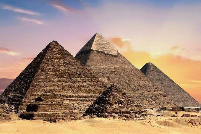they pyramids