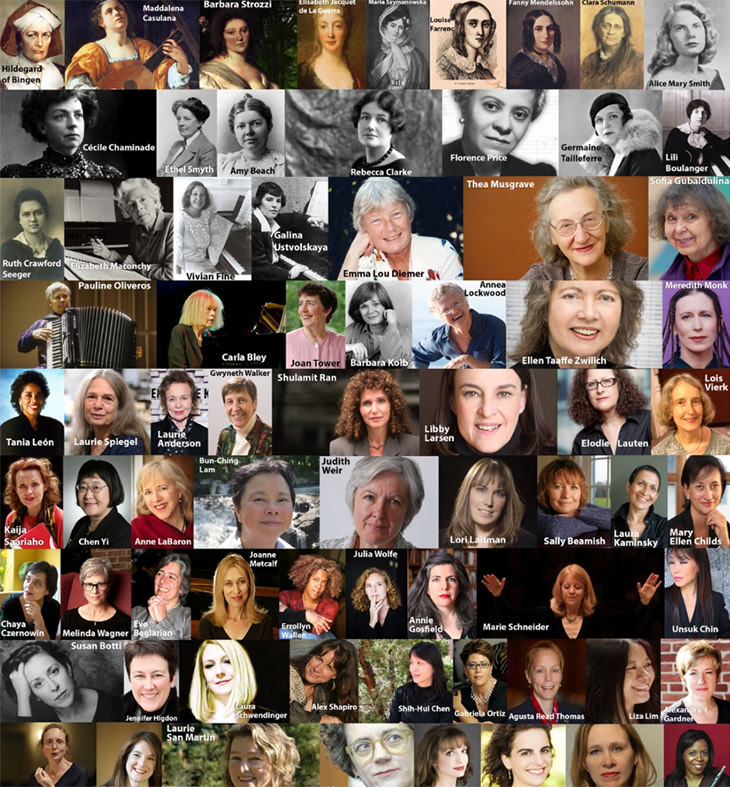 The Music of 110 Female Composers In One Place | Art - BabaMail