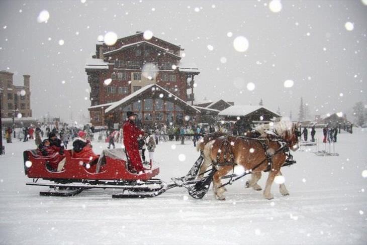 U.S. Christmas Towns