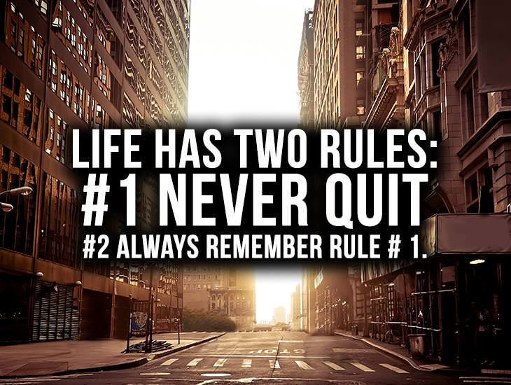 Life has Two Rules
