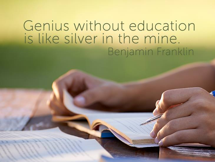 Genius Without Education